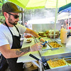 KRISTOPHER RADDER - BRATTLEBORO REFORMER<br /> Thousands of people poured into Kampfires, on Route 5 in Dummerston, Vt., for the New England Street Food Festival on Saturday, Sept. 23, 2017.