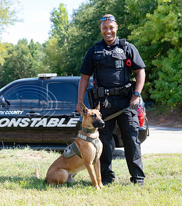 Smith County Constable Pct. 5 deputy Alvin Gordon is training as a K-9 officer with 2-year-old Blaze