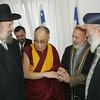 The Dalai Lama and Israeli religious leaders, Jerusalem 2006