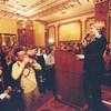 USA Senator Hillary Clinton, King David hotel, Jerusalem