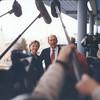 USA Senator Hillary Clinton, Jerusalem Mayor Ehud Olmert, Jerusalem