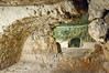 Group tour explanations are given inside the Simon The Just (Shimon HaTzadik) burial cave in Sheikh Jarrah.