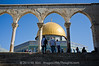 The Dome of the Rock on Temple Mount. Jerusalem, Israel. 20/07/2011.