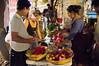 Volunteers in improvised kitchen prepare dinner for protestors in Tent City Menorah Park. Jerusalem, Israel. 26/07/2011.
