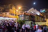 The ancient northern city of Tzfat is now hosting the 24th Int'l Klezmer Festival bringing traditional Jewish soul music to tens of thousands. The city has dressed up for the event and the festive atmosphere spreads in the air infecting all locals and visitors. Tzfat, Israel. 15/08/2011.