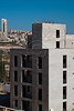 Apartment building under construction in the Arab neighborhood of Bet-Safafa. Jerusalem, Israel. 04/10/2011.