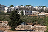 Massive housing construction in the Arab neighborhood of Bet-Safafa. Jerusalem, Israel. 04/10/2011.