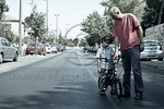 A father tries to teach his reluctant and frustrated son to ride a bicycle on  Yom Kippur which is celebrated as a national bicycle day on the empty roads of secular neighborhoods. Jerusalem ...