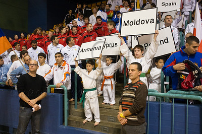 The 2011 European Traditional Karate Championship takes place with some 170 athletes from 15 countries in an event hosted by the Traditional Karate Federation of Israel. Jerusalem, Israel. 17th November 2011.