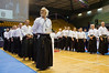 Competition judges take part in the 2011 European Traditional Karate Championship opening ceremony hosted by the Traditional Karate Federation of Israel. Jerusalem, Israel. 17th November 2011.