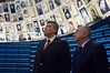 President of Ukraine, Viktor Yanukovych, visits Yad Vashem Holocaust Museum Hall of Names. The President toured the museum, participated in a memorial ceremony and signed the museum guest book. Jerusalem, Israel. 1st December 2011.