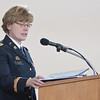 Lt. Col. Cynthia Tusler (Photo by Daniel Binkard/Chadron State College)