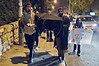 Activists conduct a solemn mock funeral procession for homeless Yohanes Berko who froze during the night of January 21st in Tel-Aviv, marching from PM Netanyahu's private apartment to the official residence. Jerusalem, Israel. 4th February 2012.