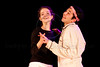 """Boyar high school students, produce, direct and perform in """"Hefetz"""" by play writer Hanoch Levin (1943-1999), a prominent Israeli dramatist. Hefetz deals with relationships based on humiliation and degradation. Jerusalem, Israel. 14-Mar-2012."""