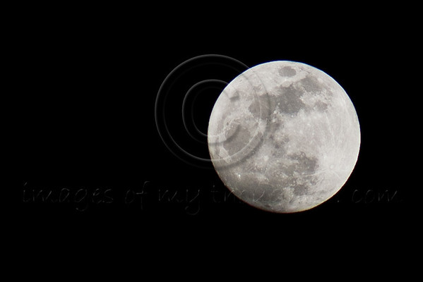 The biggest full moon of 2012, is called the 'Supermoon' or perigee full moon. Jerusalem, Israel. 5-May-2012.