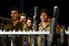 Two months into their service Golani Brigade basic trainees swear allegiance to the state and the IDF in a ceremony at the Western Wall. Golani, associated with the Northern Command, is one of the most highly decorated infantry units in the IDF.