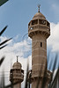 Mosque minarets. Kfar Qassem, Israel. 13-May-2012.