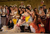 File photo: Israeli Opera performs Carmen in a full dress rehearsal with a cast of hundreds, conducted by Daniel Oren and featuring internationally acclaimed performers in the largest production ever staged in Israel. Massada, Israel. 6-June-2012.
