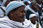 The Jewish Ethiopian community in Israel, Beta-Israel, celebrates the Sigd Holiday, symbolizing their yearning for Jerusalem for thousands of years, at the Sherover Promenade overlooking the ...