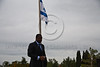 """President of Togo, Faure Essozimna Gnassingbe, stands for a moment of silence at the gravesite of Theodor Herzl, below the Israeli flag. Jerusalem, Israel. 27-Nov-2012.<br /> <br /> President of Togo, Faure Essozimna Gnassingbe, on an official four-day visit to Israel, lays a wreath at the gravesite of Theodor Herzl, the """"Visionary of the State of Israel""""."""