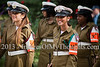 Military policewomen take part in an honor guard honoring at the President's Residence. Jerusalem, Israel. 4-Dec-2012.<br /> <br /> Jaideep Sarkar, newly appointed Indian Ambassador to Israel, presents his Letter of Credence to the President of the State of Israel, Shimon Peres, in a formal ceremony at the President's Residence.