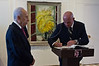 Pjer Simunovic, newly appointed Croatian Ambassador to Israel, signs the guest book at the President's Residence following a meeting with President Shimon Peres. Jerusalem, Israel. 4-Dec-2012.<br /> <br /> Pjer Simunovic, newly appointed Croatian Ambassador to Israel, presents his Letter of Credence to the President of the State of Israel, Shimon Peres, in a formal ceremony at the President's Residence.