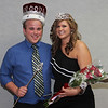 Luke Wright and Stacee Wright, Ivy Day king and queen. (Photo by Justin Haag)
