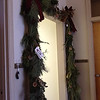 This garland made from numerous species of evergreens by Chadron State College Campus Arboretum Volunteers is displayed on the third floor of the Dawes County Courthouse in the Fur Trade Days fundraiser - Winter Festival of Lights. The branches were downed in the Oct. 4 storm.
