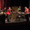 "Chadron State College's Mallets and Ivory present holiday songs at Memorial Hall on Thursday Dec. 12. The ""Mallets"" consisted of the CSC percussion ensemble and the ""Ivory"" consisted of the CSC keyboard ensemble. (Miranda Wieczorek/Chadron State College)"
