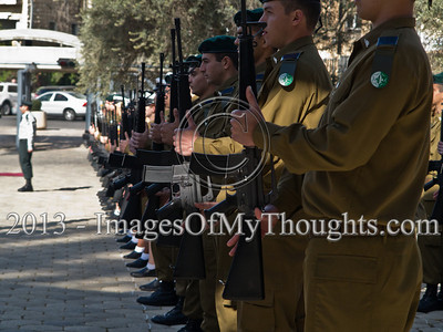 Mr. Ta Duy Chinh, newly appointed Socialist Republic of Vietnam Ambassador to Israel, is welcomed at the President's Residence with a military honor guard and the Socialist Republic of Vietnam National Anthem played by the Israel Police Band. Jerusalem, Israel. 28-Feb-2013.  Mr. Ta Duy Chinh, newly appointed Socialist Republic of Vietnam Ambassador to Israel, presents his Letter of Credence to the President of the State of Israel, Shimon Peres, in a formal ceremony at the President's Residence.