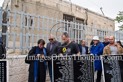 65 year commemoration of the Deir Yassin Massacre in Jerusalem