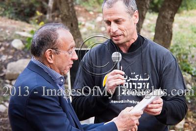 65 year commemoration of the Deir Yassin Massacre in Jerusalem