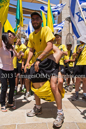 Golani Race runs through Jerusalem