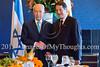 Israel's Peres hosts Cyprus's Anastasiades in Jerusalem
