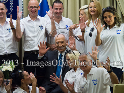 Israel's president wishes success to Deaf Olympics sportsmen