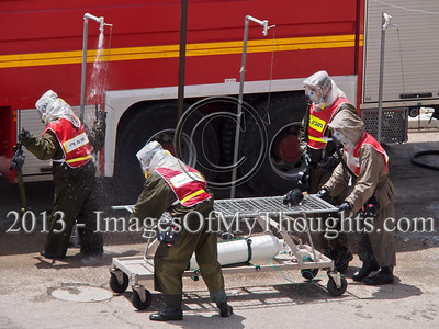 Jerusalem's Hadassah Hospital drills chemical missile strike