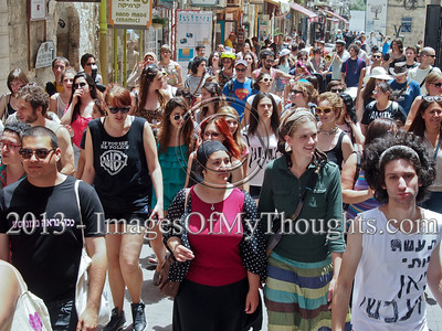 Jerusalem's second annual Slut Walk