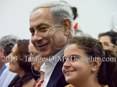 PM Netanyahu Attends Son's High School Graduation