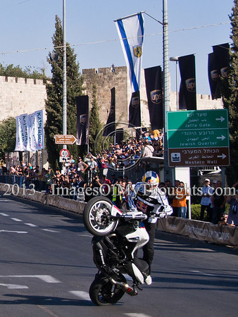 Formula One Peace Road Show in Jerusalem