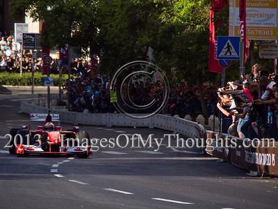 Formula One Peace Road Show in Jerusalem