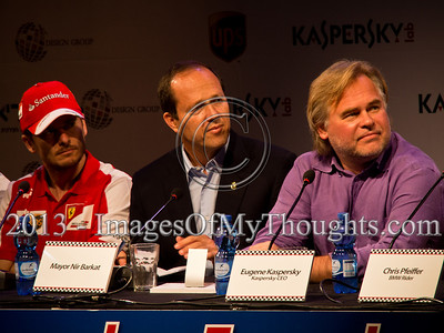 Formula One Press Conference in Jerusalem