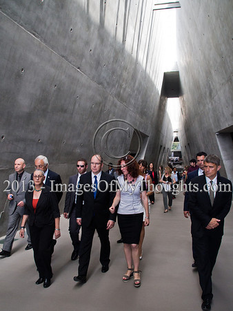 Monaco's Reigning Monarch Visits Holocaust Museum in Jerusalem