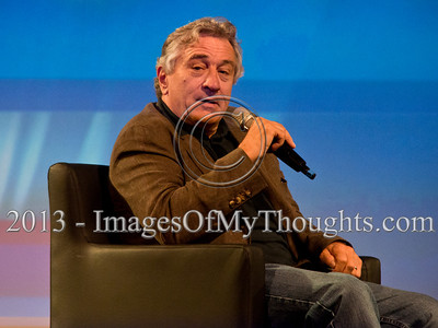 Sharon Stone, Robert De Niro and others, interviewed in Jerusalem
