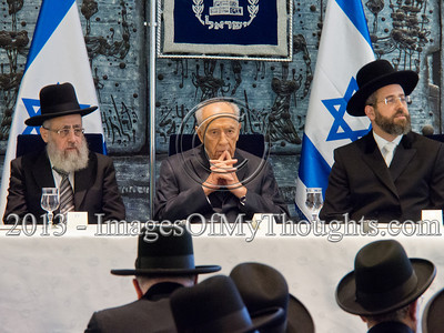 Chief Israeli Rabbis Sworn-In by President Peres
