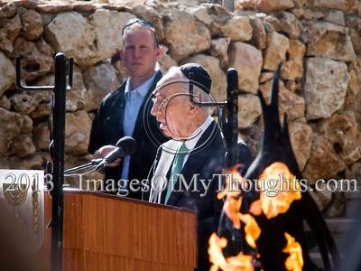 State Memorial Ceremony Honors 'Gandhi' in Jerusalem