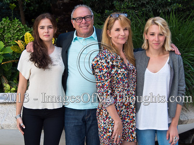 Celebrated Hollywood Family and TV Stars in Israel