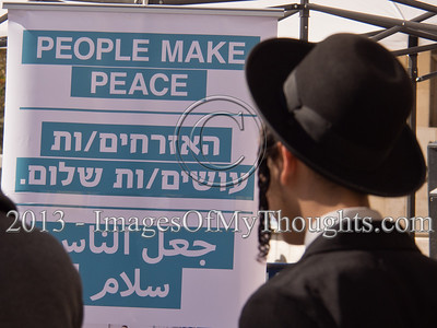 Israeli-Palestinian Peace Negotiation Simulation in Jerusalem
