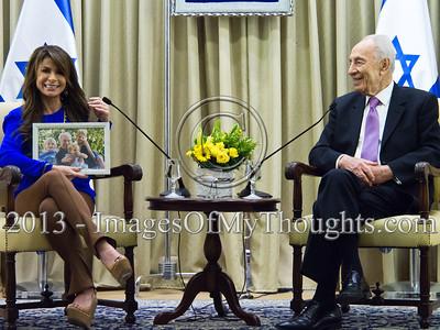 Paula Abdul in Israel