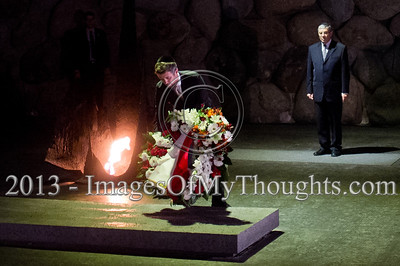 Crown Prince of Denmark visits Yad Vashem in Jerusalem