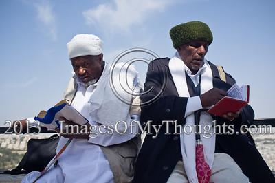 Ethiopian Jews in Celebration of the Sigd in Jerusalem